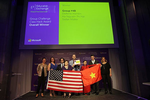 Microsoft unveils the new E² Educator award winners hinh anh 1