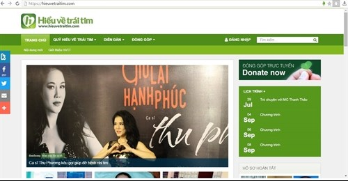 Charity to use web donation page hinh anh 1