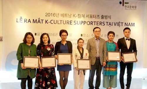 K-Culture Supporters group to promote Vietnam -RoK ties hinh anh 1