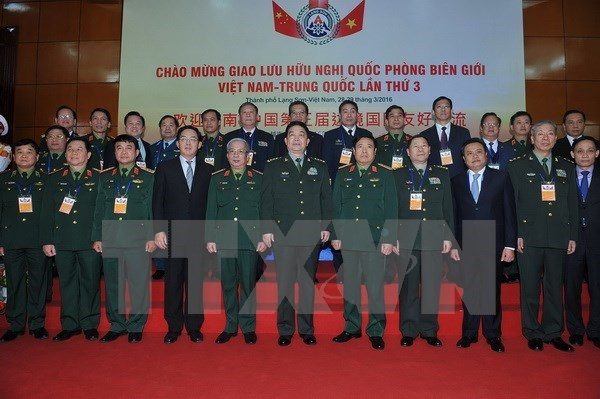 Third Vietnam–China border defence friendship exchange underway hinh anh 1