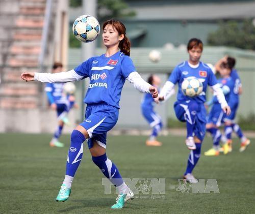 Women's football team falls in world ranking hinh anh 1