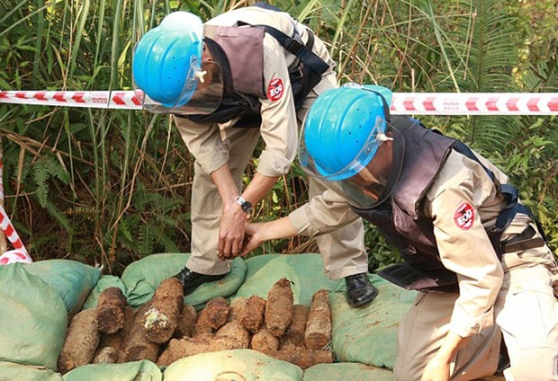 Vietnam works to address wartime bombs' consequences hinh anh 1