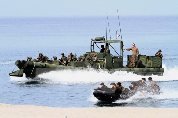 Philippines, US begin joint military exercise hinh anh 1
