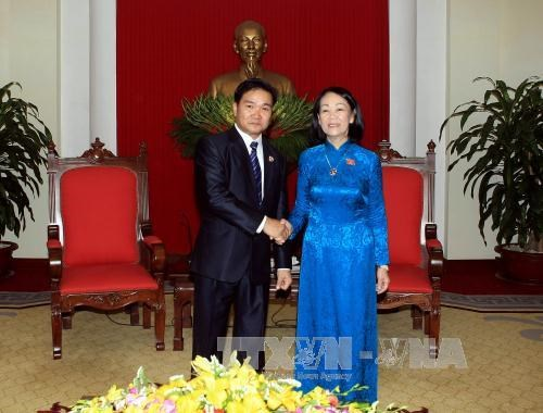 Vietnam continually facilitates youth exchanges with Laos hinh anh 1
