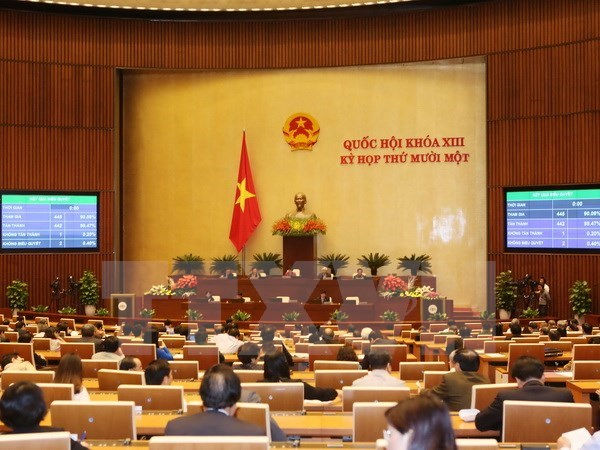 Lawmakers elect leaders of NA's committees hinh anh 1