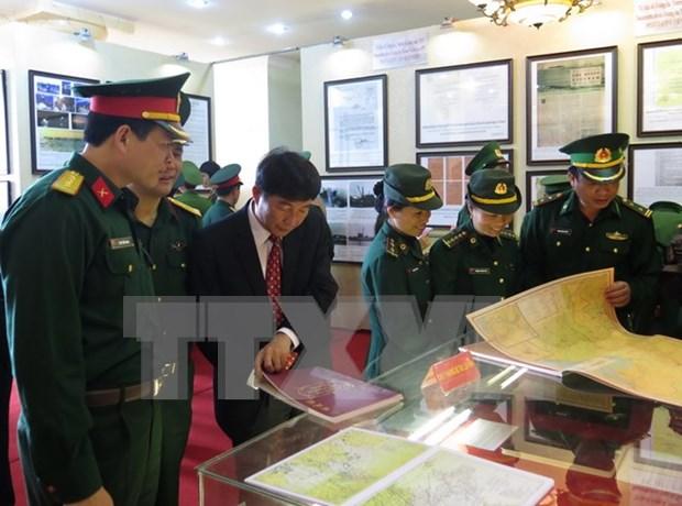 Exhibition on Truong Sa, Hoang Sa opens in Bac Lieu hinh anh 1