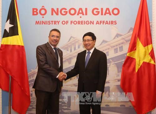 Vietnam, Timor Leste seek increased cooperation hinh anh 1