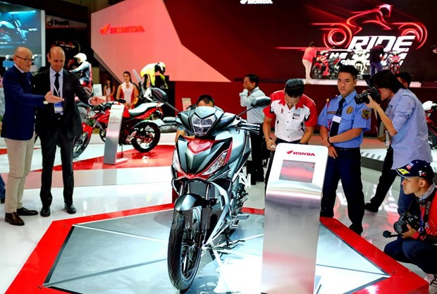 First Vietnam Motorcycle Show kicks off in HCM City hinh anh 1