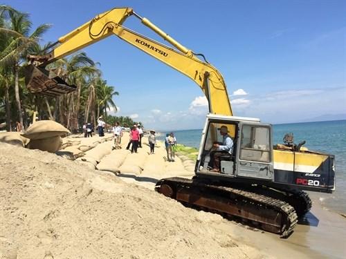 Quang Nam: Cua Dai beach dyke approved hinh anh 1