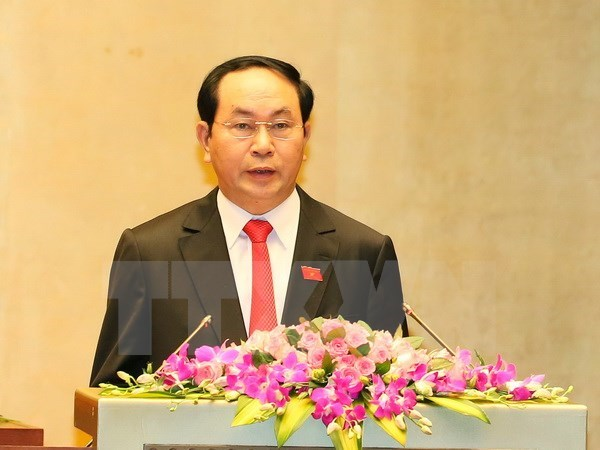 Congratulations sent to new Vietnamese leaders hinh anh 1