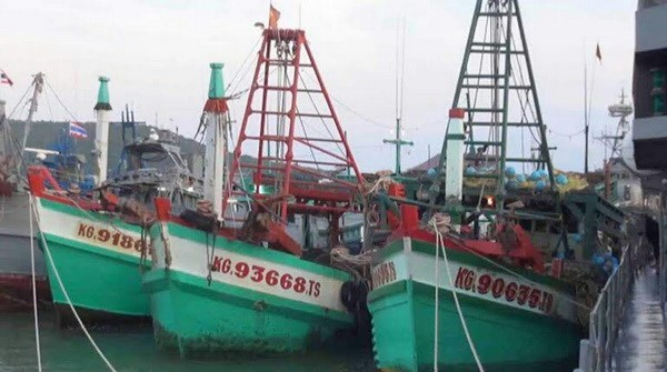 Thailand seizes more fishing ships from Vietnam hinh anh 1