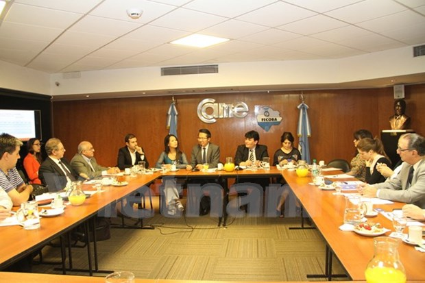 Argentine firms take interest in Vietnamese market hinh anh 1