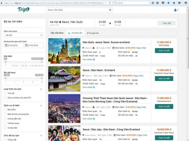First online tourist portal launched hinh anh 1