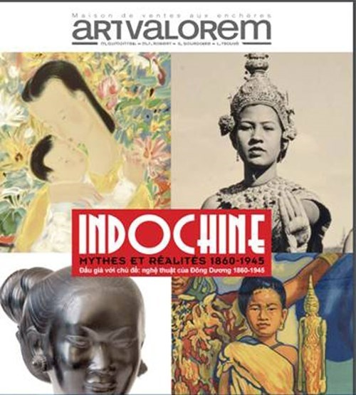 French Indochinese items set to be auctioned in Paris hinh anh 1