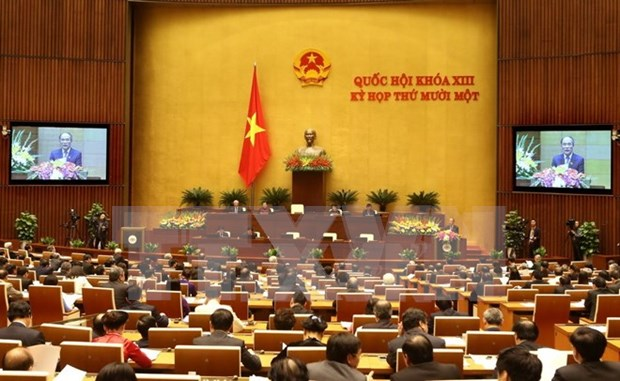 13th National Assembly – five years with a lot of landmarks hinh anh 1