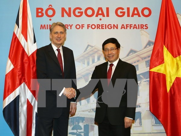 Vietnam, UK mull over ways to foster strategic partnership hinh anh 1
