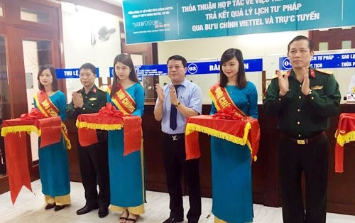 Hanoi uses online judicial services hinh anh 1