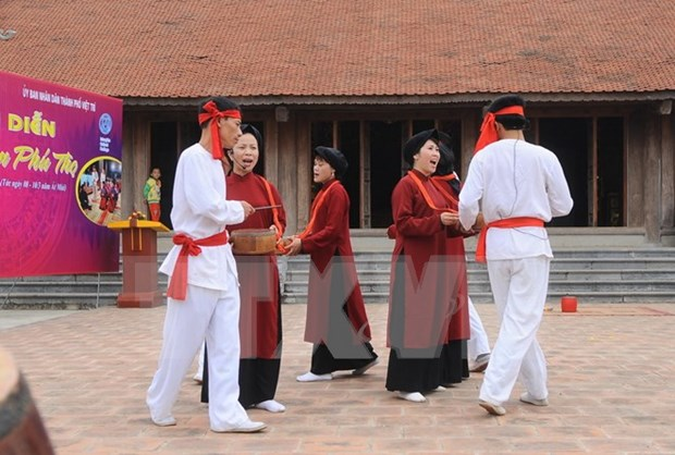 2016 Hung Kings temple festival features Xoan singing hinh anh 1