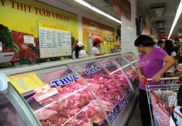 Vissan sells fresh pork from April 15 hinh anh 1