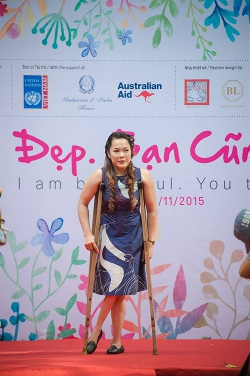 Fashion show for the disabled to be held in Hoi An hinh anh 1