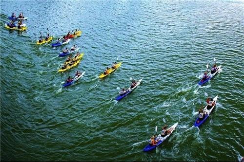 Kayakers to paddle in Da Nang beach hinh anh 1