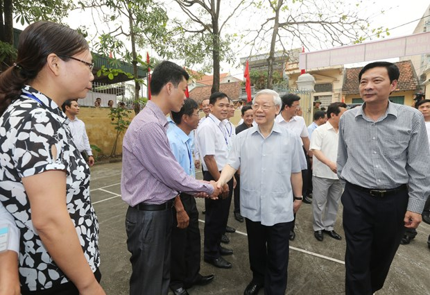 Leader inspects Party building work in Quang Ninh province hinh anh 1