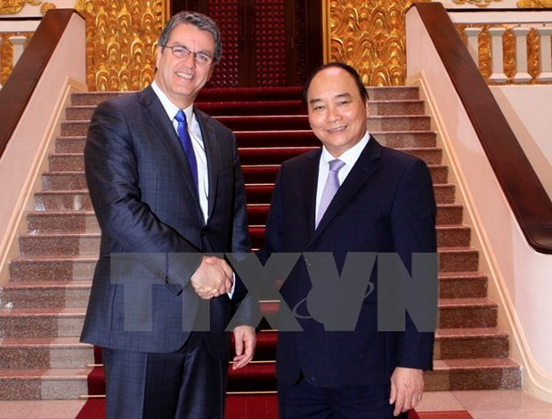 Prime Minister welcomes WTO Director-General hinh anh 1