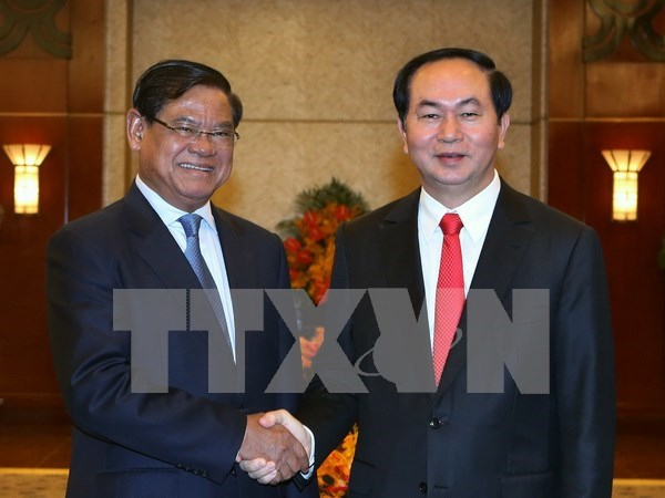 President welcomes Cambodian Deputy PM hinh anh 1