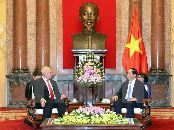 President: Russia - high priority in Vietnam's diplomatic policy hinh anh 1