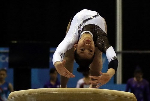 Two gymnasts qualify for 2016 Brazil Olympics hinh anh 1