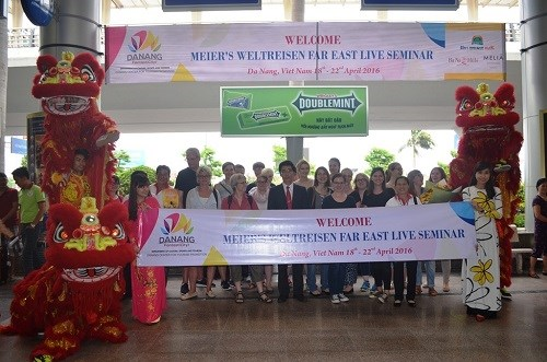 German travel agencies survey popular spots in Da Nang hinh anh 1
