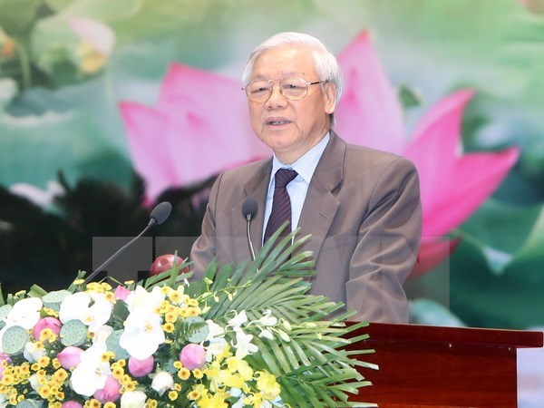 National conference on 12th Party Congress Resolution concludes hinh anh 1