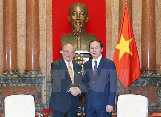 Vietnam prioritises Japan in foreign policy: President hinh anh 1