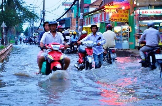 HCM City spends big to address flood hinh anh 1