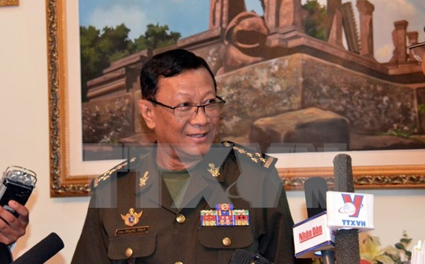 Cambodia, US foster cooperation in maritime security hinh anh 1