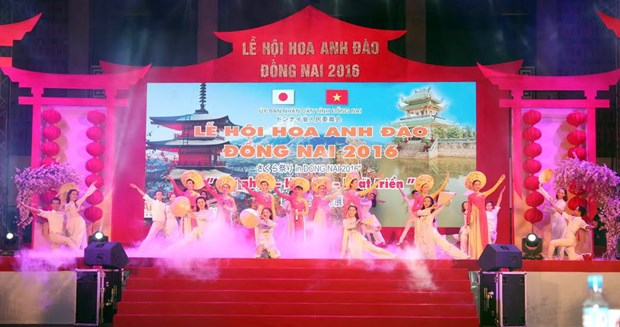 Cherry blossom blooms in Dong Nai province hinh anh 1