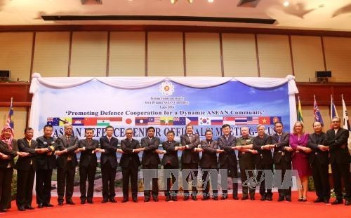 Vietnam attends ASEAN Defence Senior Officials Meeting Plus in Laos hinh anh 1