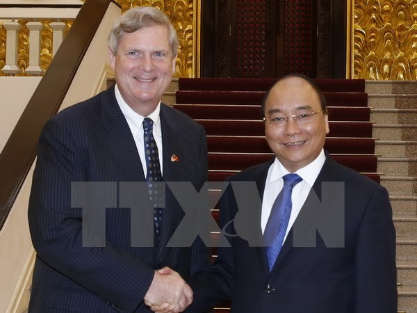 Government leader welcomes US Secretary of Agriculture hinh anh 1