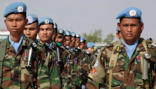 Over 200 Cambodian peacekeepers dispatched to Mali hinh anh 1
