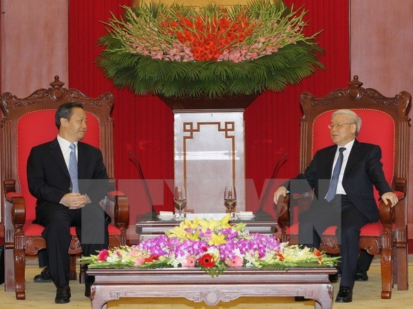 Vietnam values ties with Guangxi: Party chief hinh anh 1