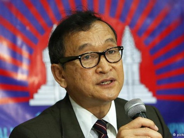 Cambodia issues another warrant for Sam Rainsy hinh anh 1
