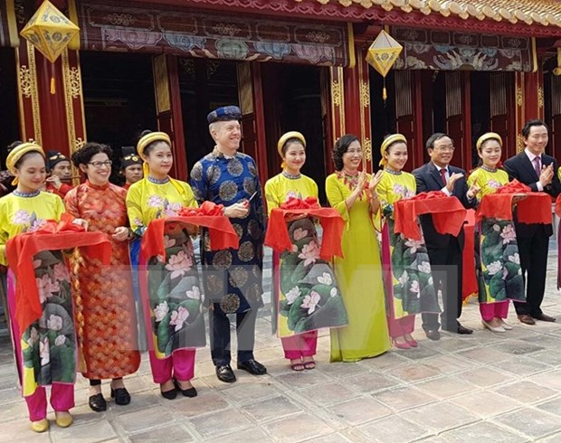 Ancient temple in Hue receives facelift hinh anh 1