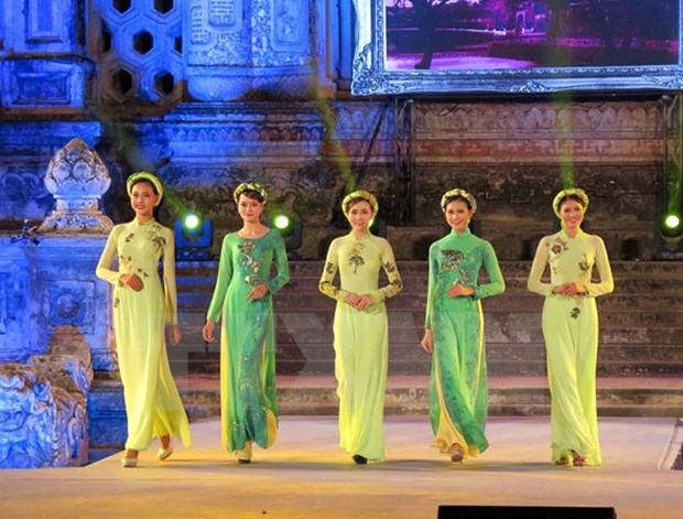 Hue Festival: Art performances impress visitors hinh anh 1