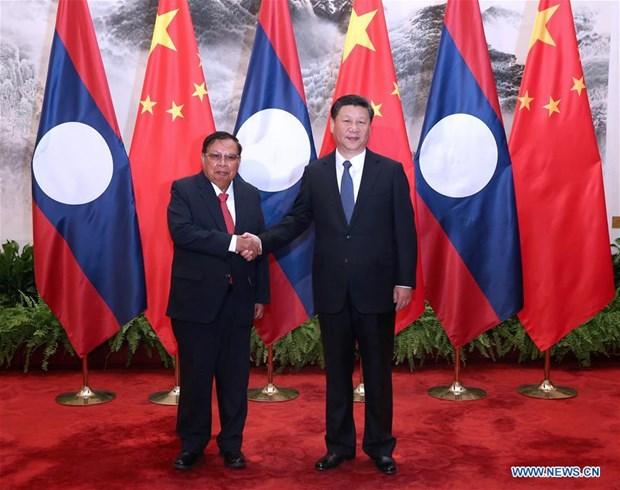 China, Laos enhance ties hinh anh 1