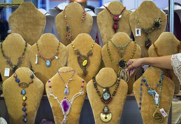 International jewellery fair held in Jakarta hinh anh 1