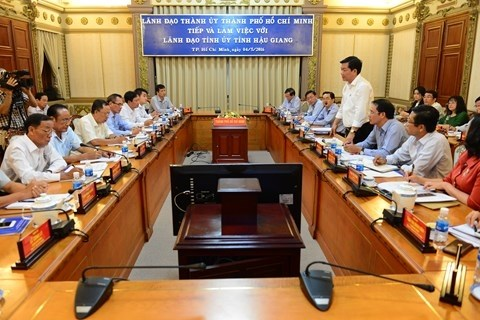 HCM City, Hau Giang look to joint initiatives hinh anh 1