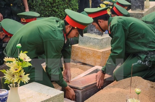 Thanh Hoa: remains of martyrs reburied hinh anh 1