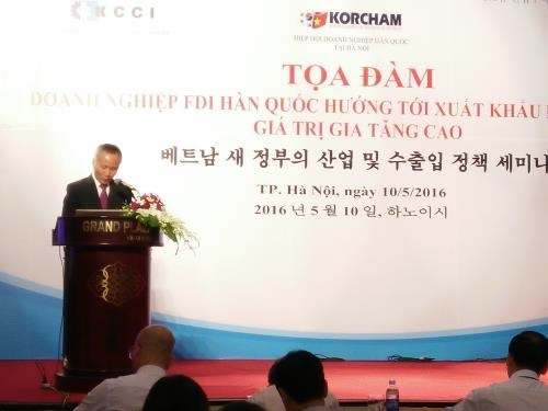 Vietnam vows to facilitate FDI firms' operation hinh anh 1
