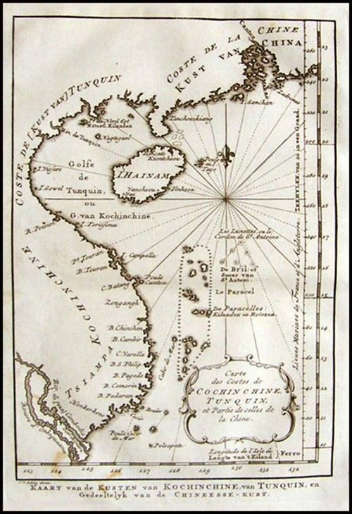 Maps showing island sovereignty displayed in US hinh anh 1