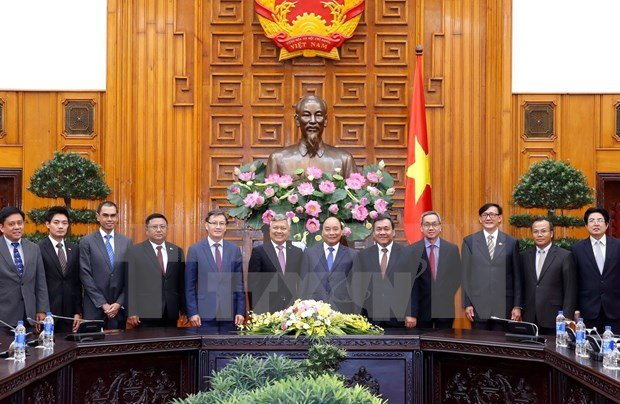 Prime Minister greets ASEAN ambassadors hinh anh 1